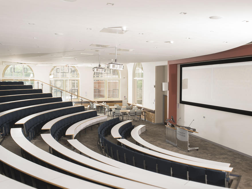 Tiered lecture theatre University of Birmingham | Conferences & events