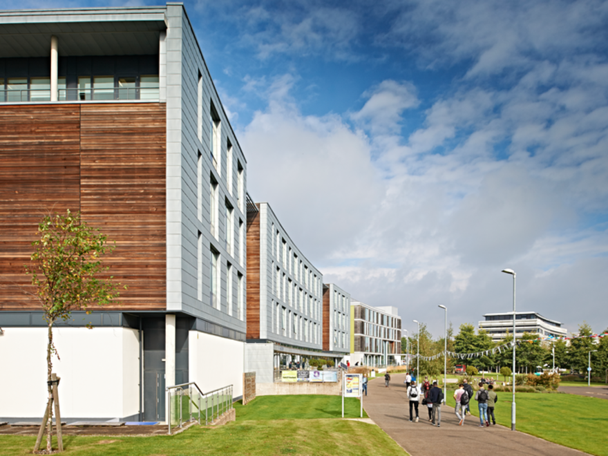 Anglia Ruskin University campus view