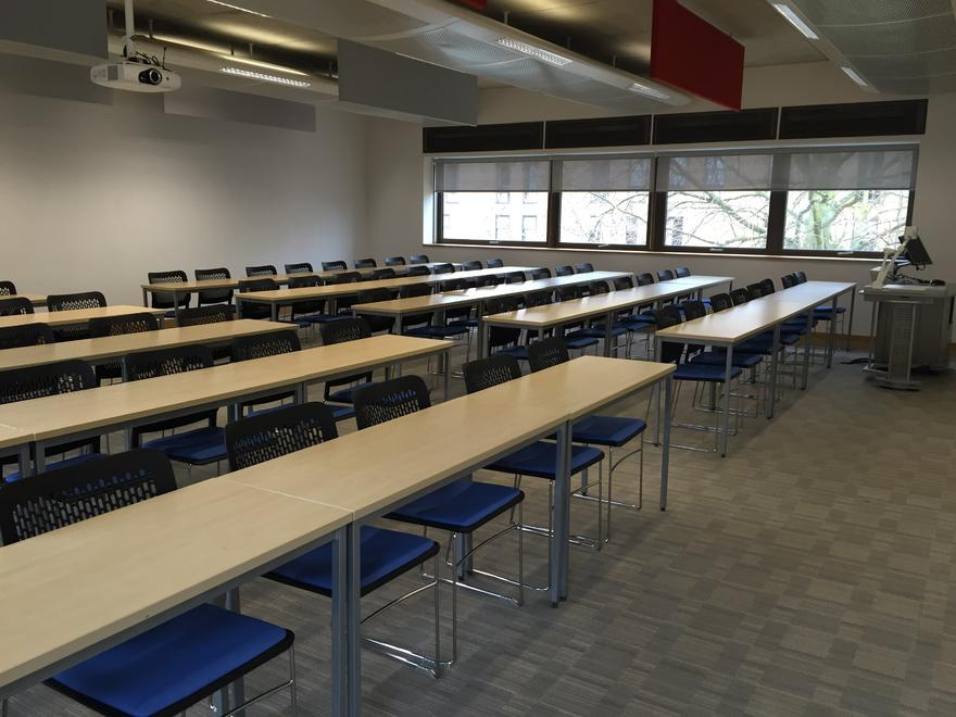 Anglia Ruskin University meeting room